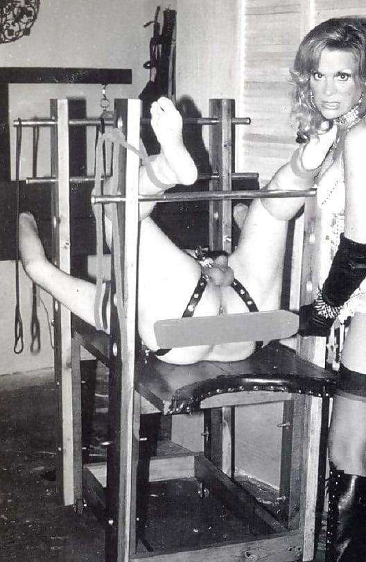 Femdom bondage cage-9131