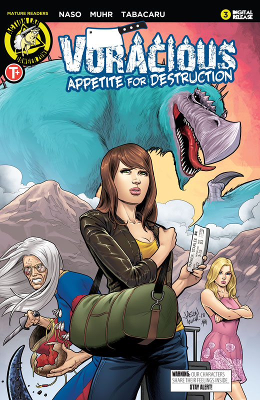 Voracious - Appetite for Destruction #1-5 (2019) Complete