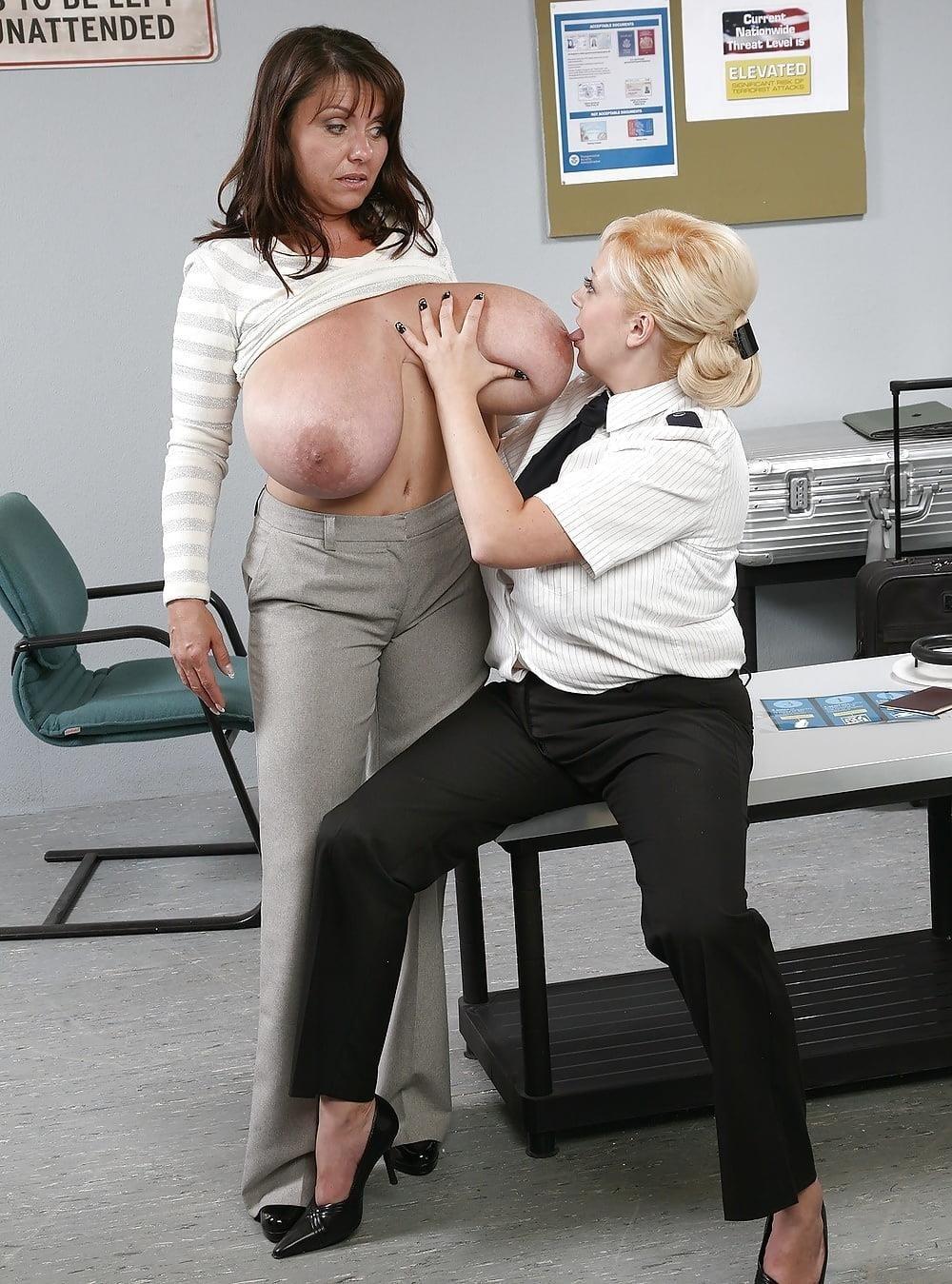 Nude big boobs lesbians-5941