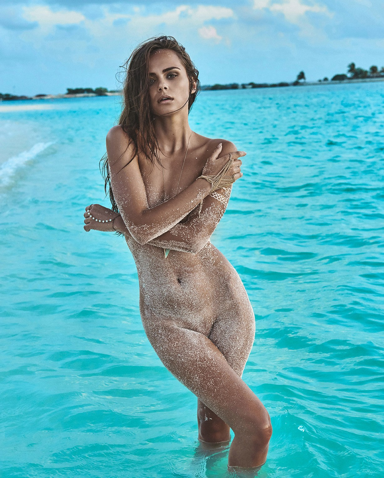 Ксения Дэли / Xenia Deli nude by Jacques Weyers