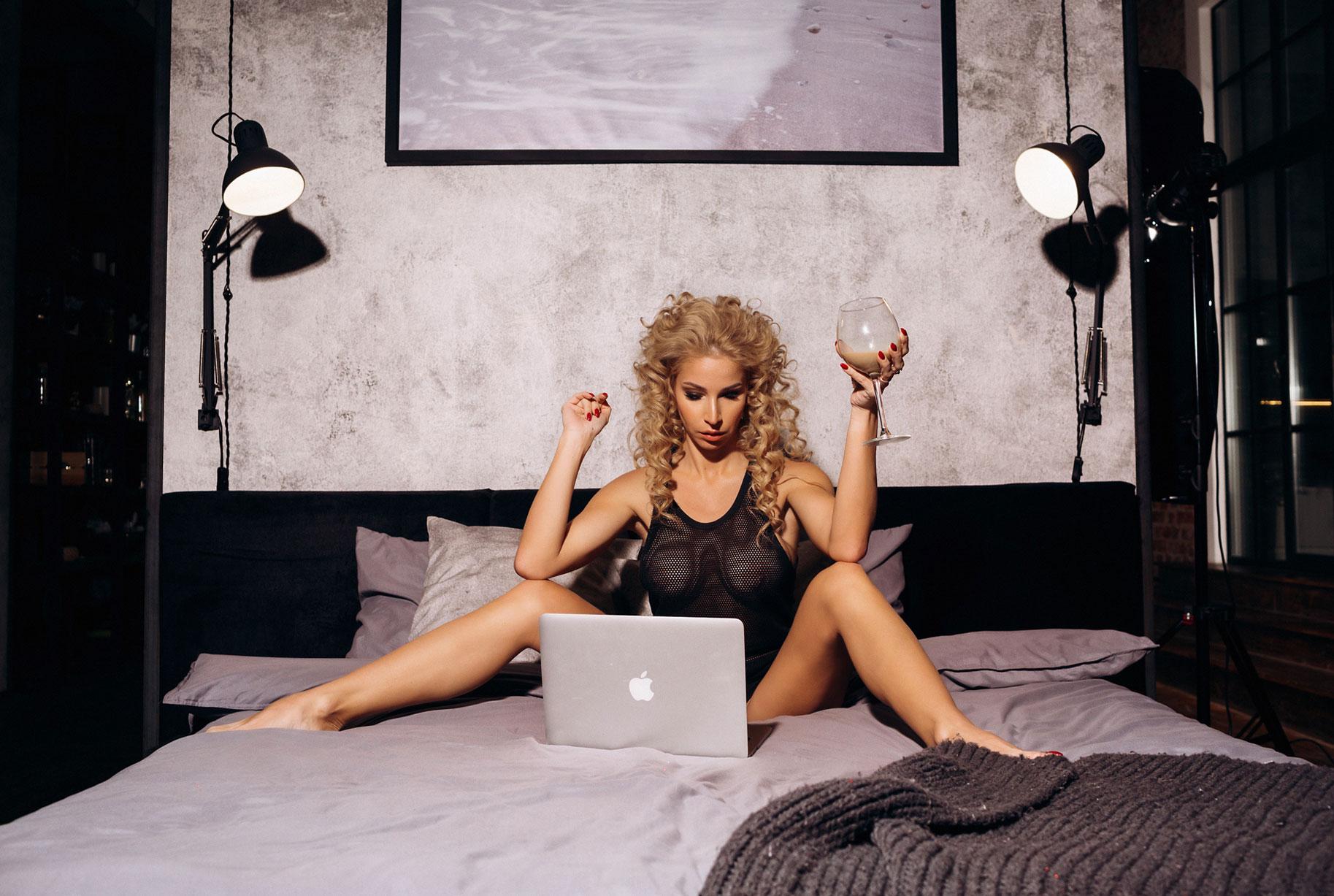 Девушка виртуального Playboy - Анастасия Образцова, фотограф Светлана Никонова / Svetlana Nikonova