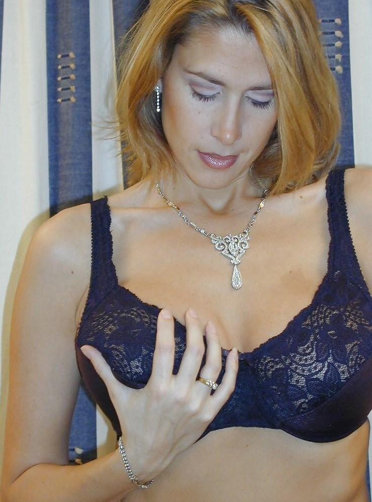 Hot big tits blonde milf in first porn mompov-5807
