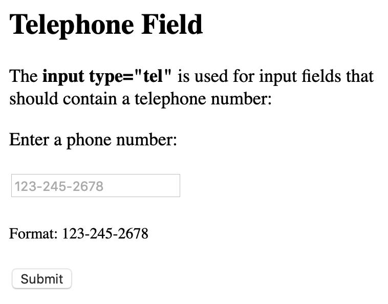 phone number render