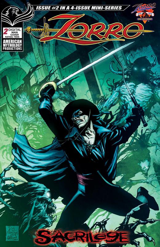 Zorro - Sacrilege #1-4 (2019) Complete