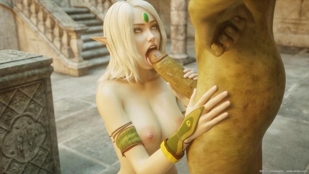 Sexy anime elf girl-4198
