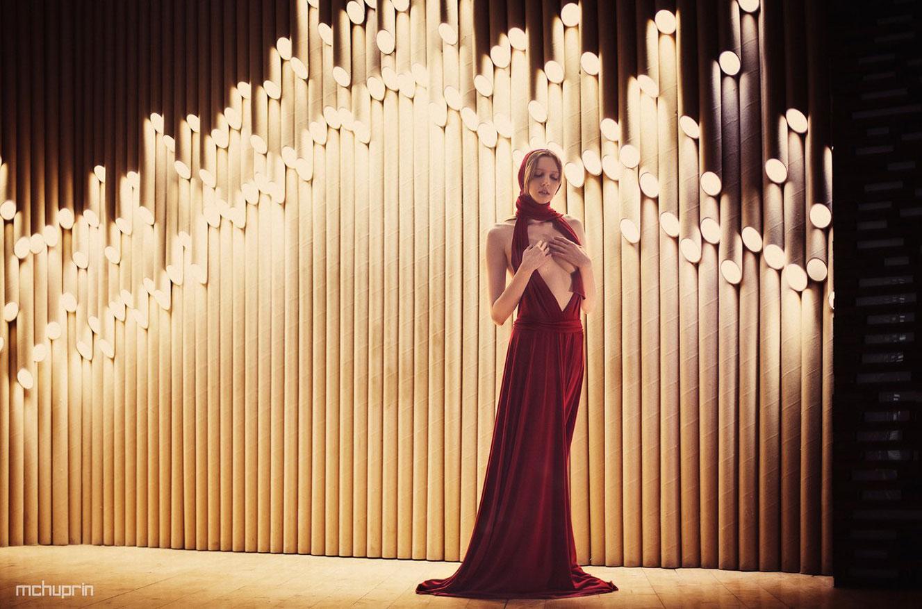 на сцене Катерина Райх / Katerina Raih nude by Maxim Chuprin