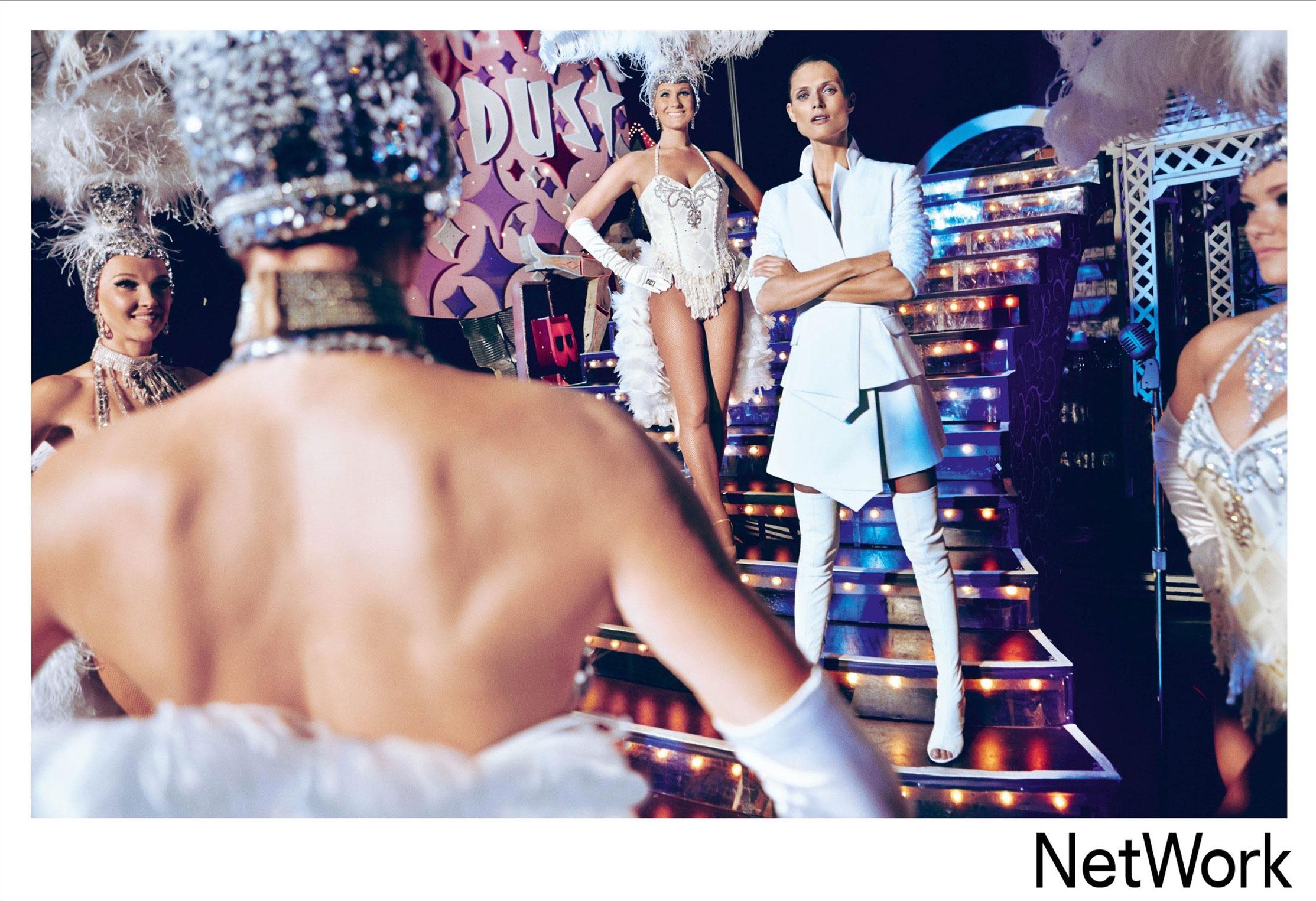супермодель Малгоша Бела в рекламной кампании турецкого модного бренда Network, сезон весна-лето 2015 / фото 05