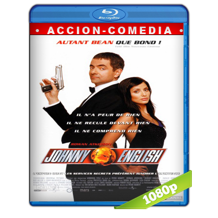Johnny English 1080p Lat-Cast-Ing[Comedia](2003)