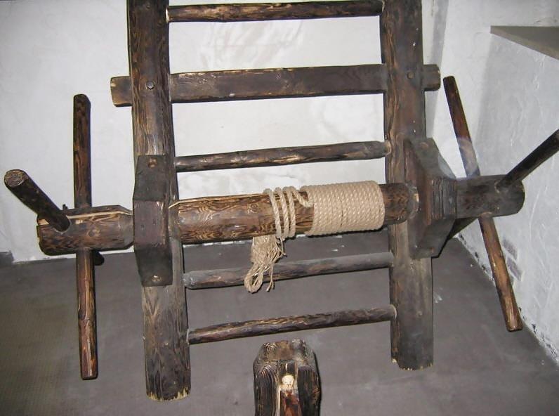 Medieval torture bondage-8642