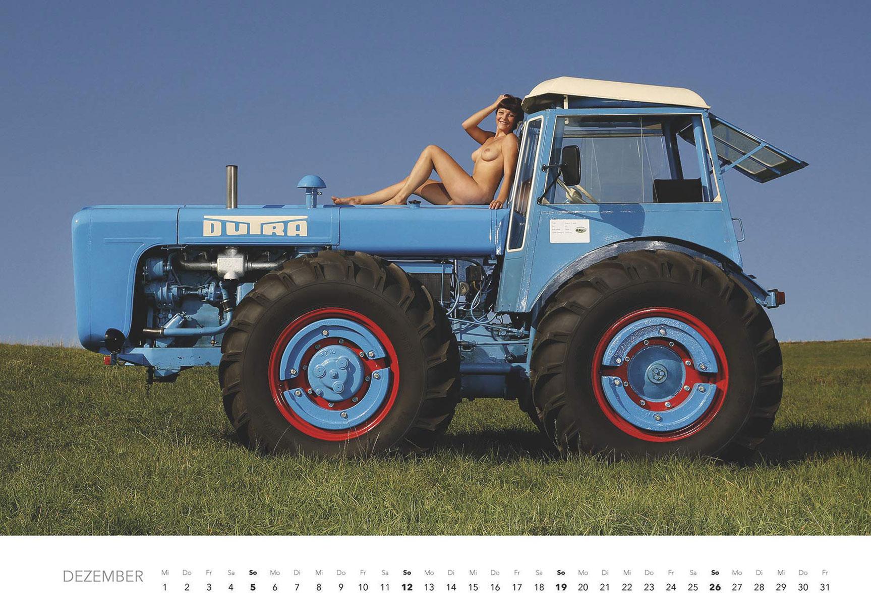 Эротический календарь -Мечты молодых фермеров 2021- / декабрь