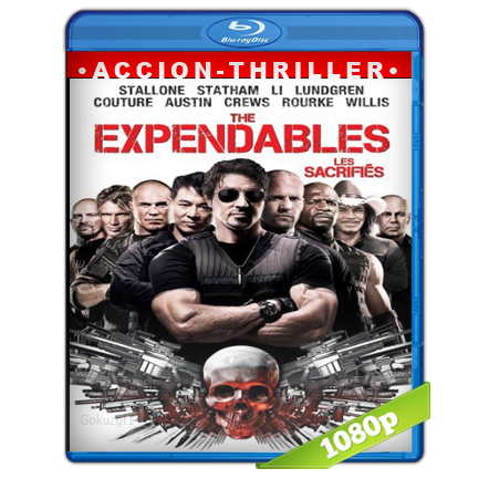 Los Indestructibles 1080p Lat-Cast-Ing 5.1 (2010)