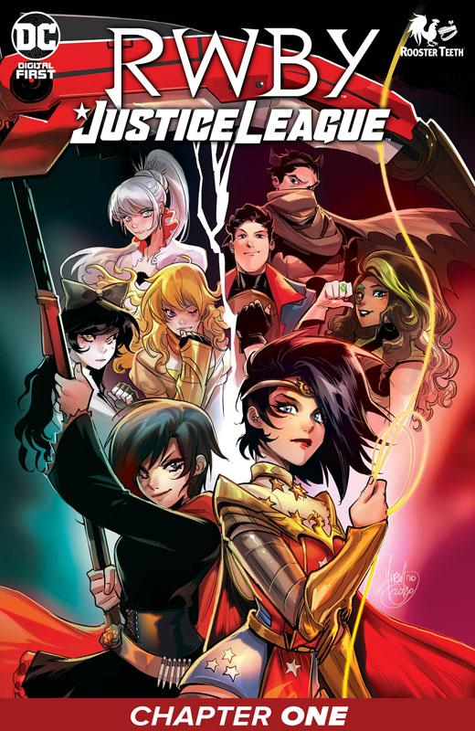 RWBY - Justice League #1-4 (2021)