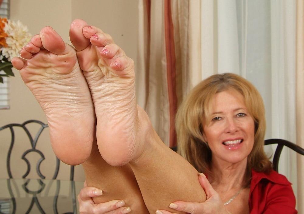 Granny foot femdom-5058