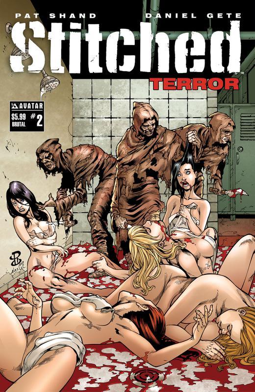 Stitched - Terror #1-3 (2019)