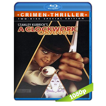 descargar La Naranja Mecanica [m1080p][Trial Lat/Cas/Ing][Crimen](1971) gratis