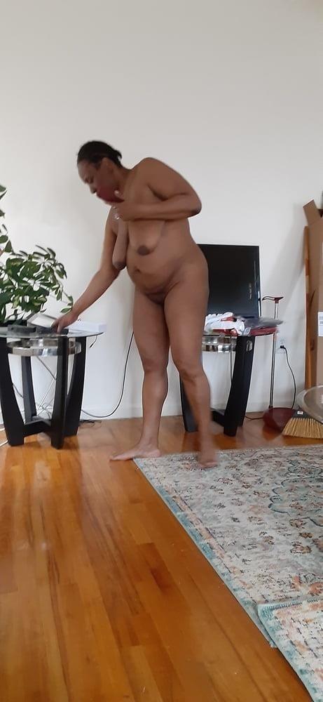 Ebony caught porn-9018