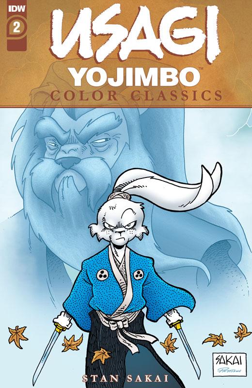 Usagi Yojimbo Color Classics #1-7 (2020)