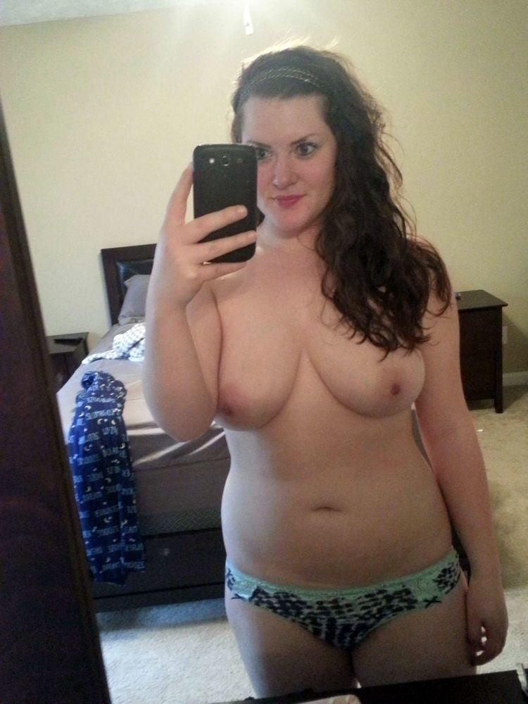 Naked fat girl selfies-4103