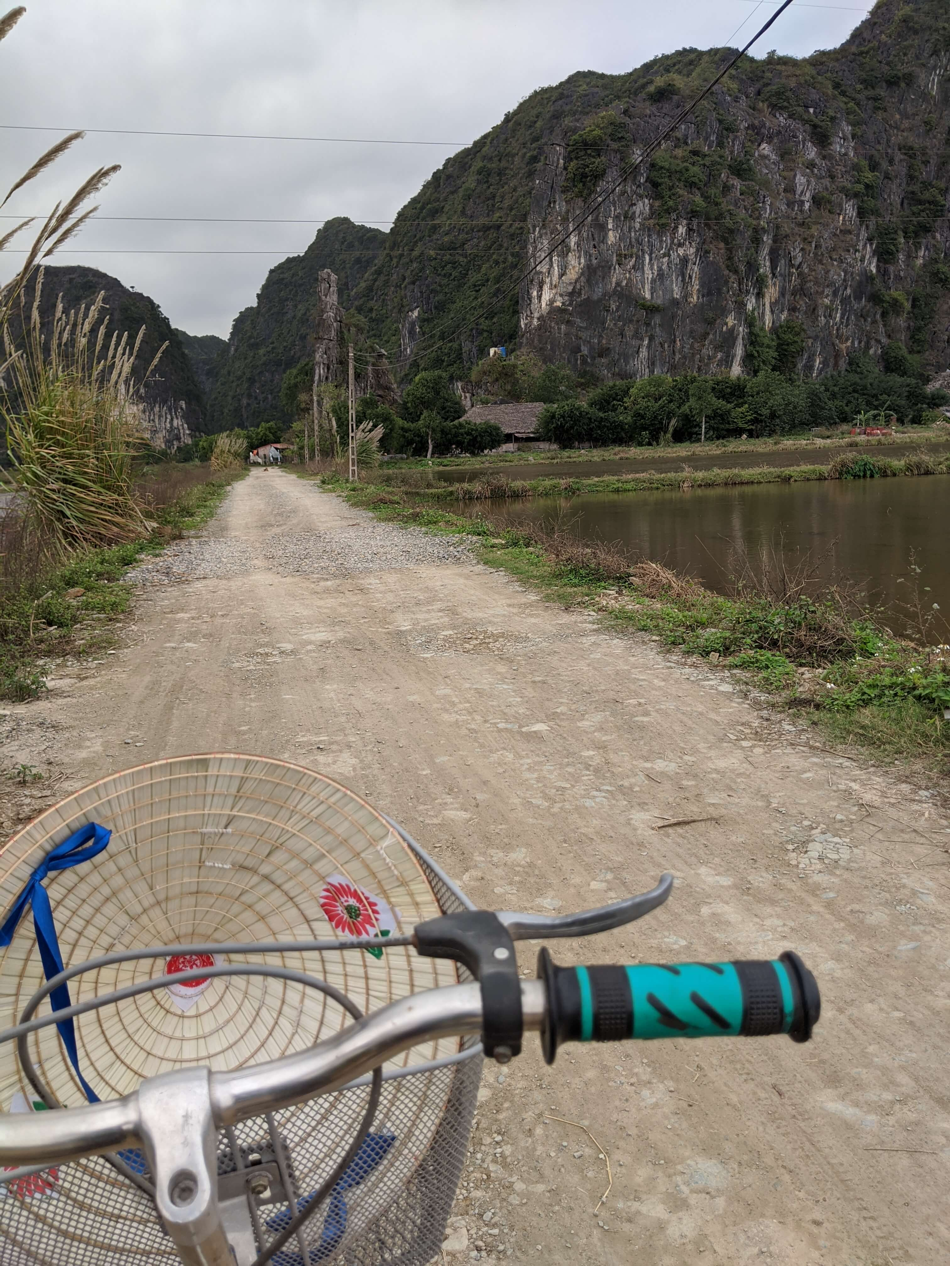 Bicycle Ride in Tam Coc area