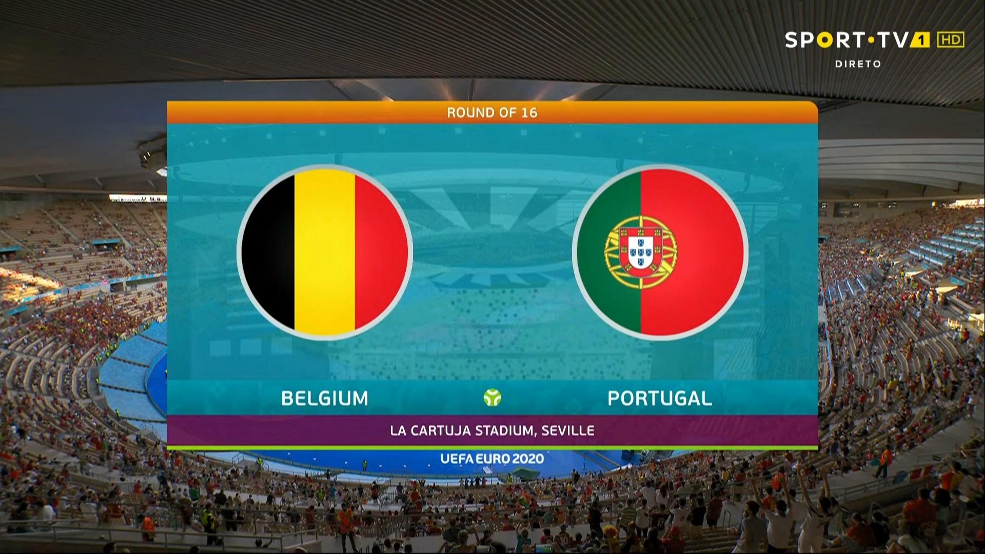 Full match: Belgium vs Portugal