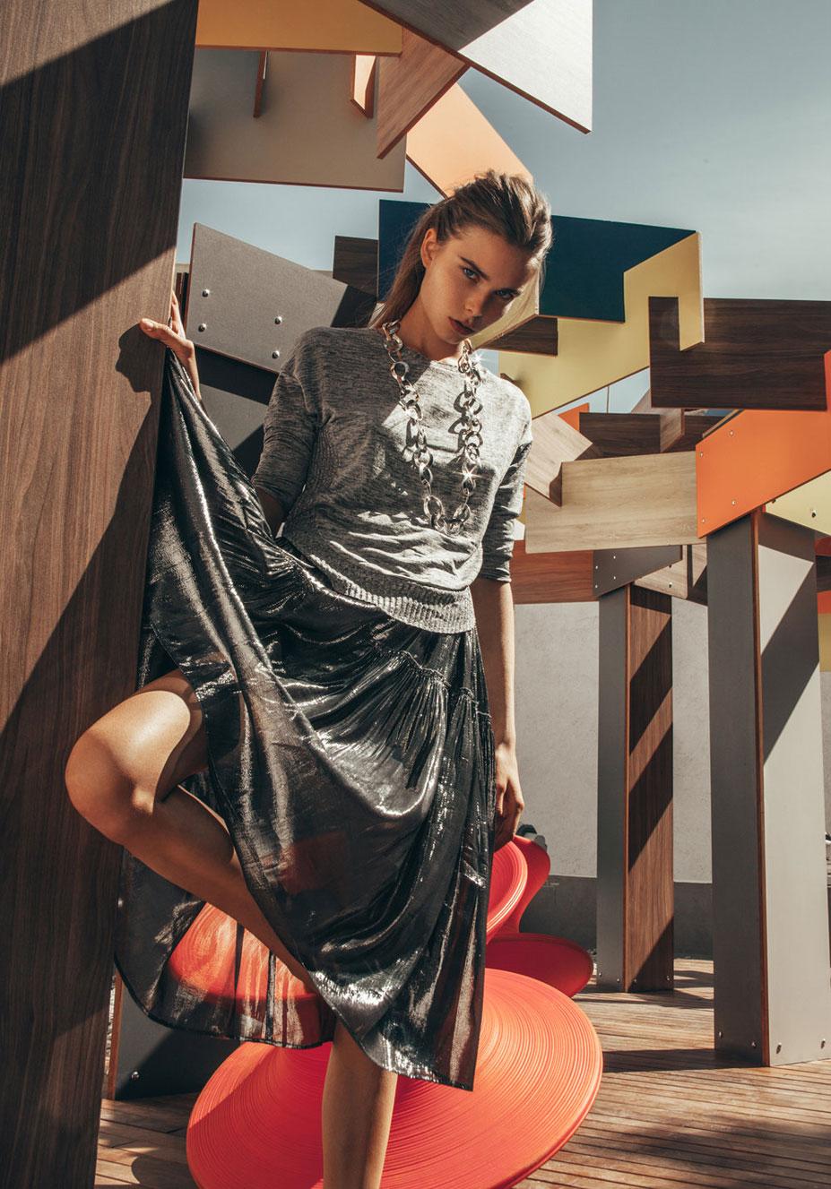Анна Штольц тестирует модную одежду / фото 16