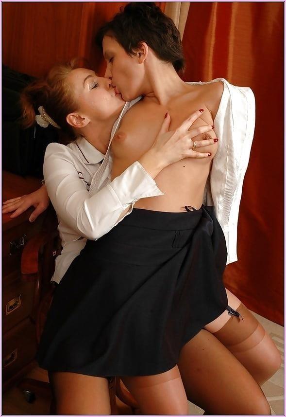 Super hot lesbian kiss-8460