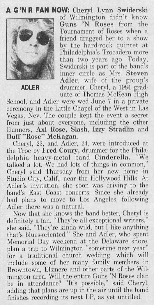1989.06.30 - The News Journal - A GN'R Fan Now (Steven) X8M02hbU_o