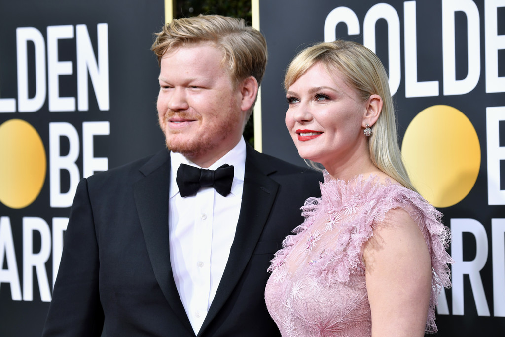 Kirsten Dunst – 77th Annual Golden Globe Awards in Beverly Hills – 1/5/20