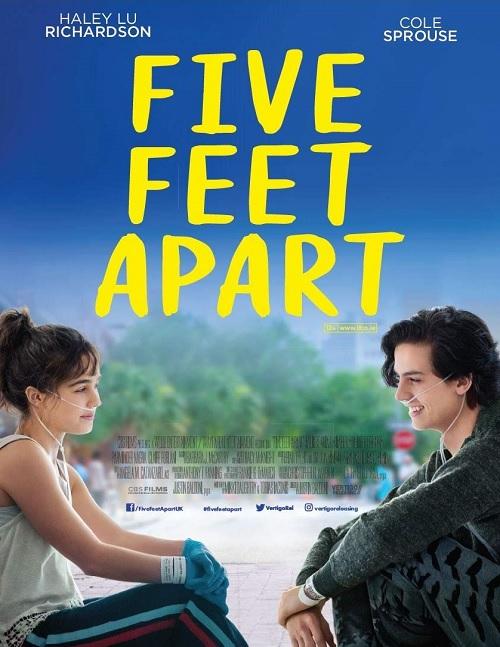 Trzy kroki od siebie / Five Feet Apart (2019) MULTi.720p.BluRay.x264.DTS.AC3-DENDA / LEKTOR i NAPISY PL