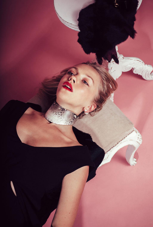 Светлана Легун в рекламной кампании Wicca collection 2016 / фото 02