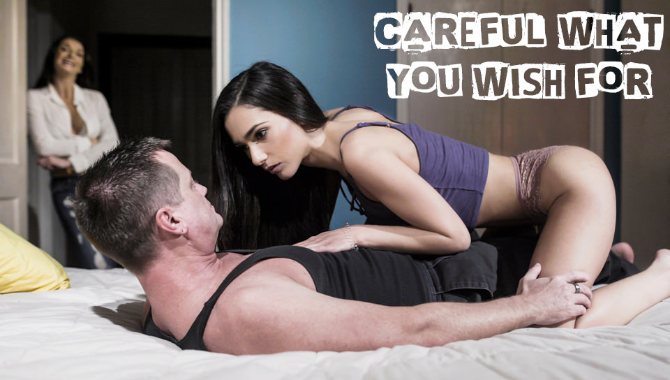 Jaye Summers, Silvia Saige, Eric Masterson – Careful What You Wish For – Pure Taboo