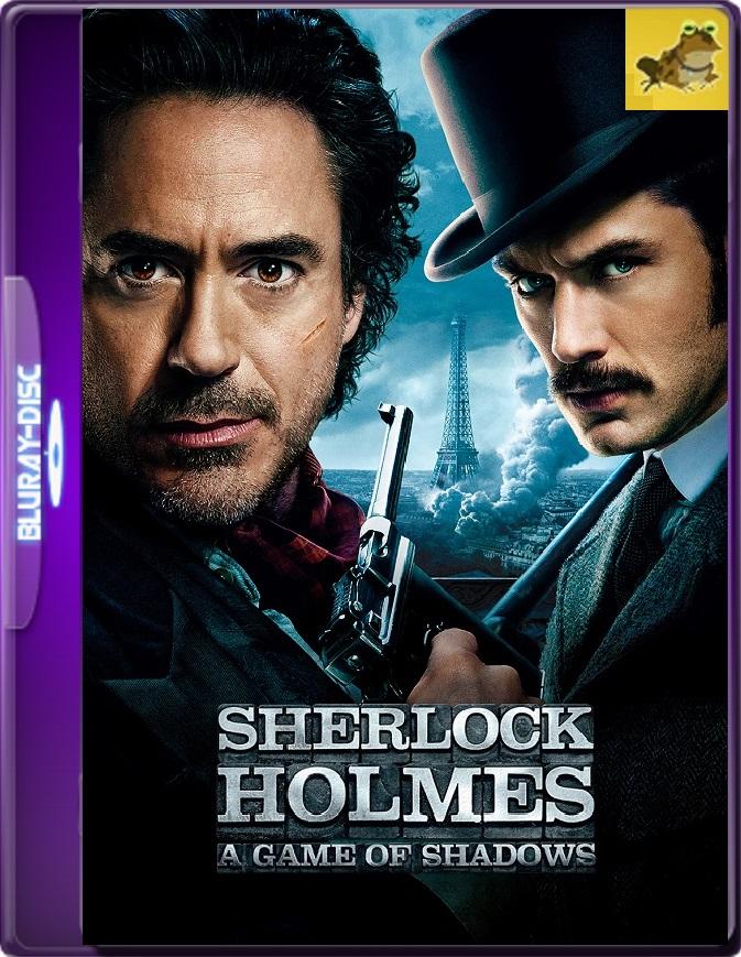 Sherlock Holmes: Juego De Sombras (2011) Brrip 1080p (60 FPS) Latino / Inglés