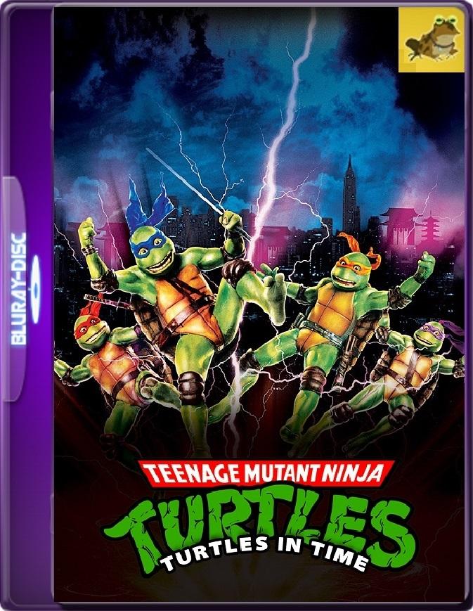 Las Tortugas Ninja 3 (1993) Brrip 1080p (60 FPS) Latino / Inglés