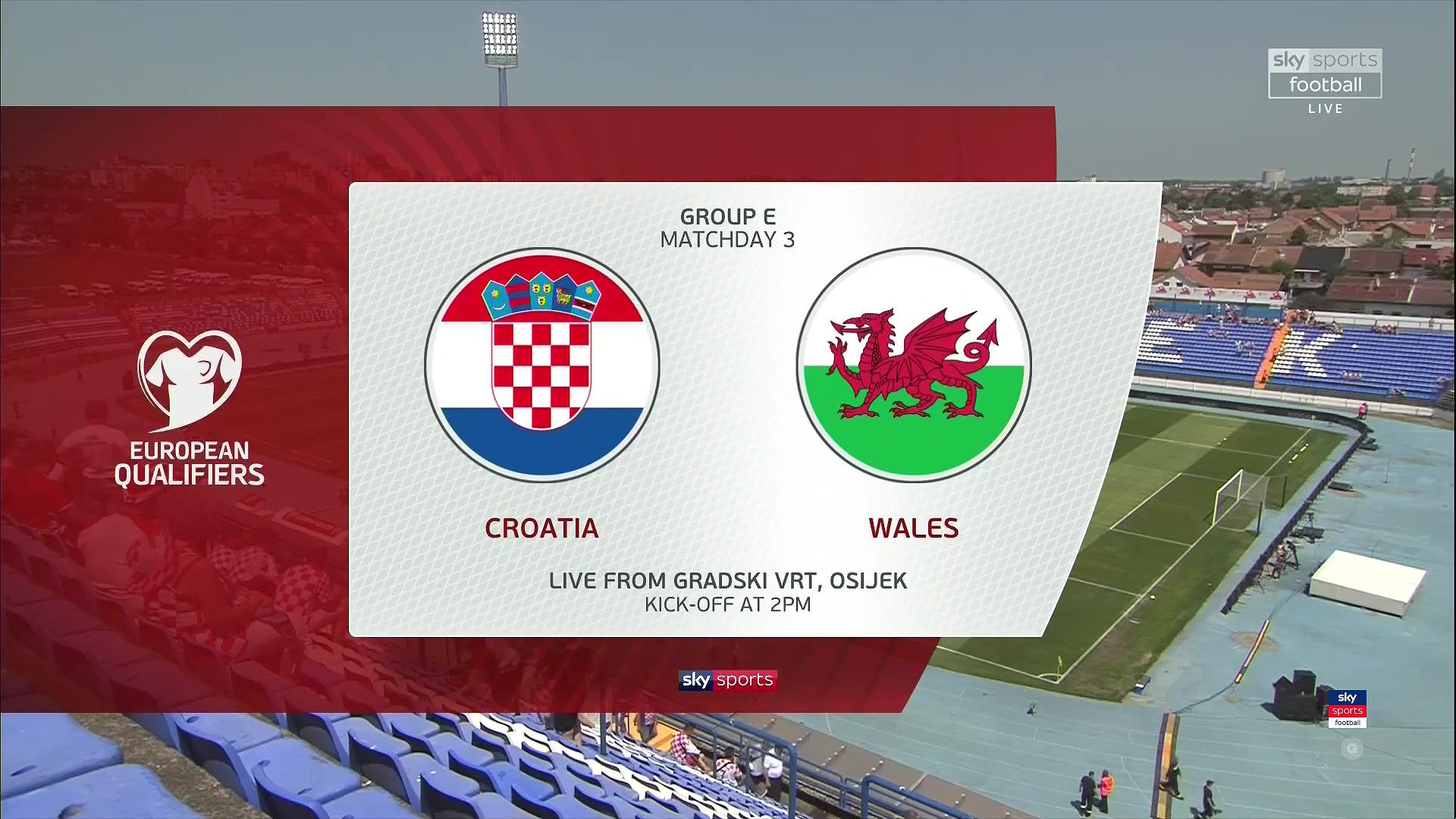 Xem lại: Croatia vs Wales