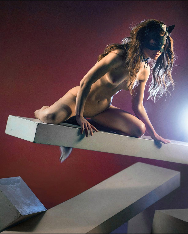 сексуальная кошечка Катя Котенова / Katia Kotenova nude by Pavel Kiselev