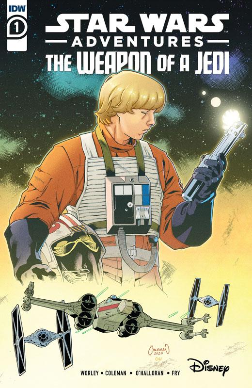 Star Wars Adventures - Weapon of a Jedi #1-2 (2021)