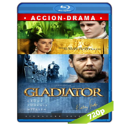Gladiador HD720p Audio Trial Latino-Castellano-Ingles 5.1 2000