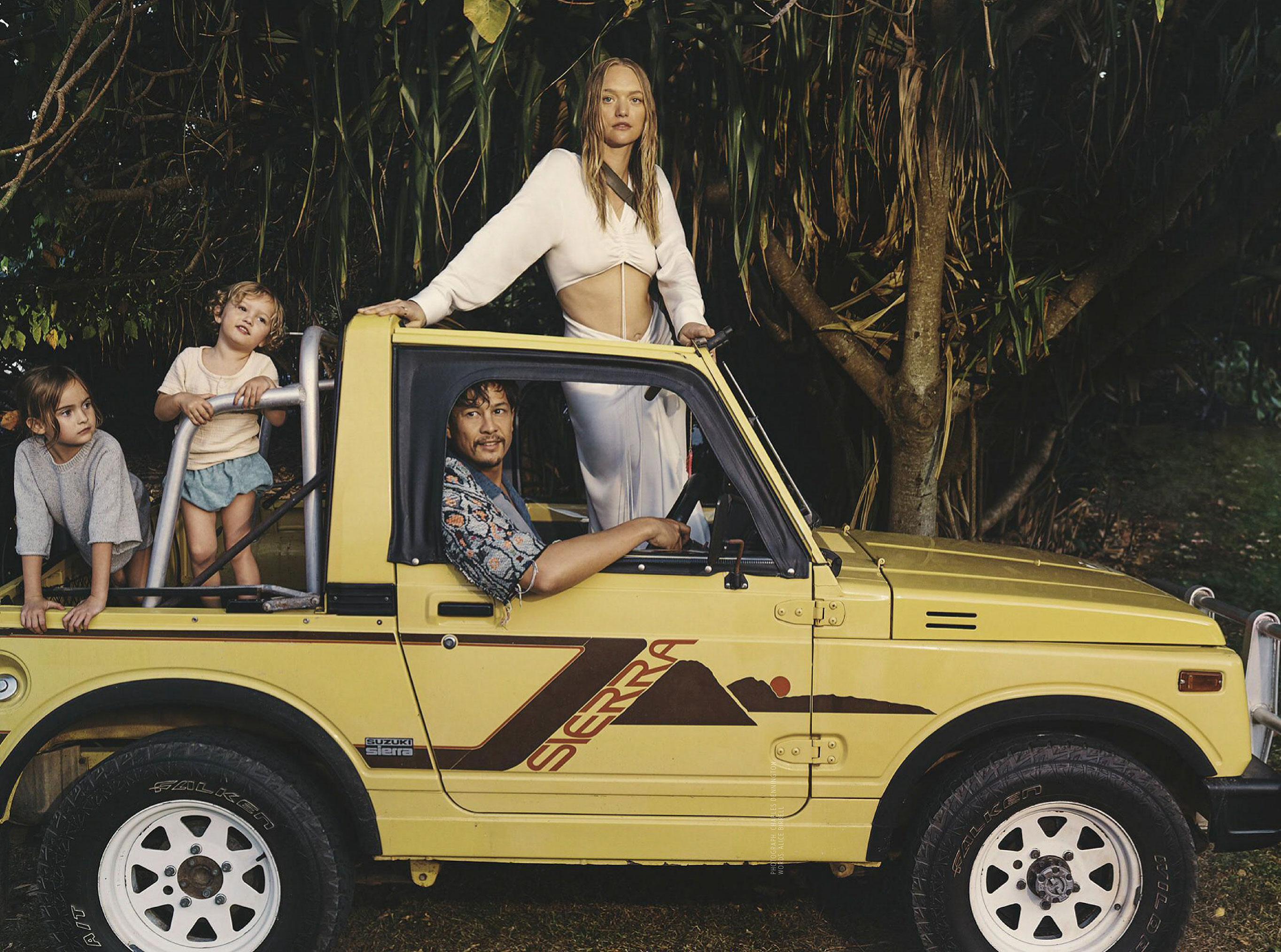 Джемма Уорд с семьей путешествует по лесам Нового Южного Уэльса / фото 03