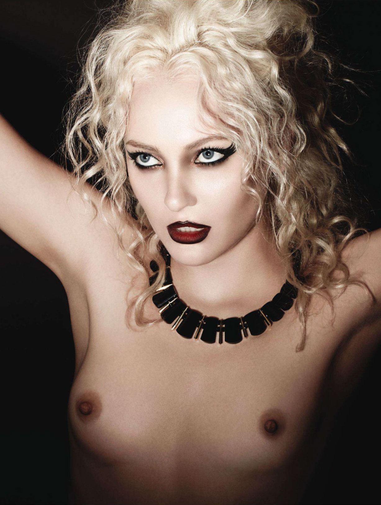 Brooke Bonelli naked by Steve Shaw / Treats! Magazine, issue 1, spring 2011