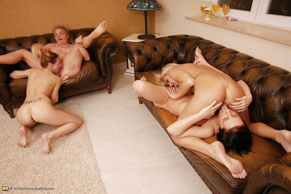 Group sex with old women-7740