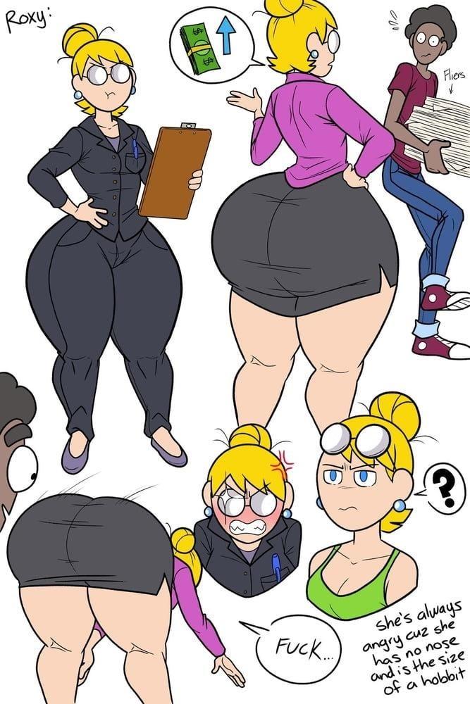 Big tit cartoon porn pics-3269