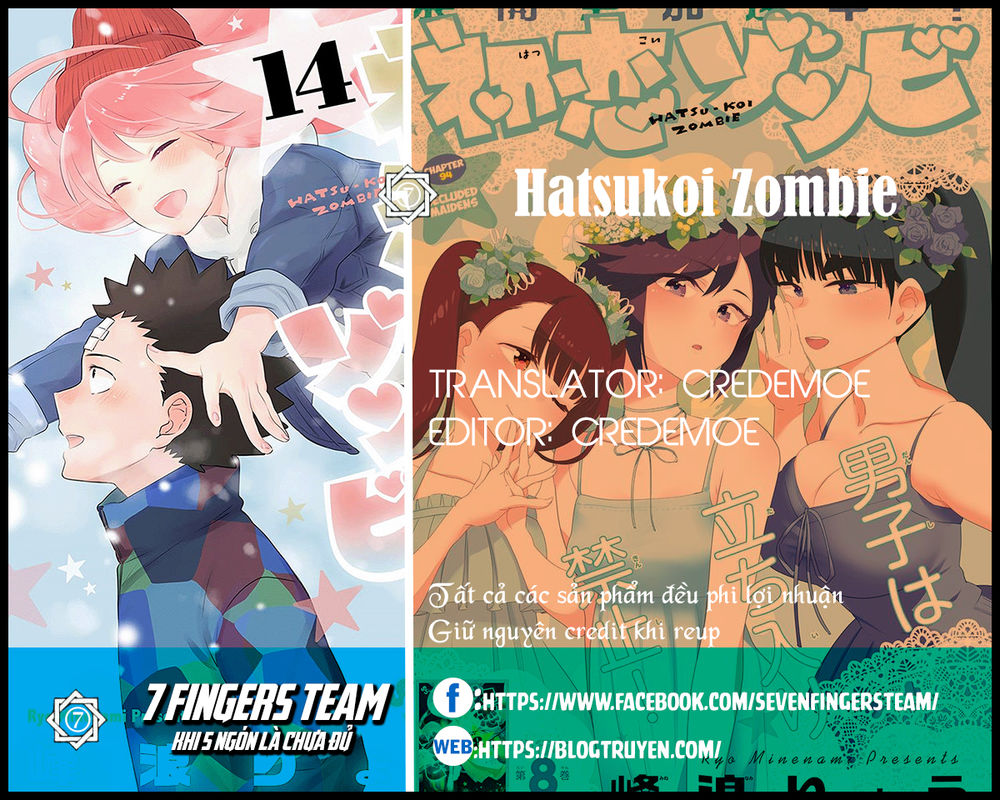 Hatsukoi Zombie Chapter 128 - Trang 2