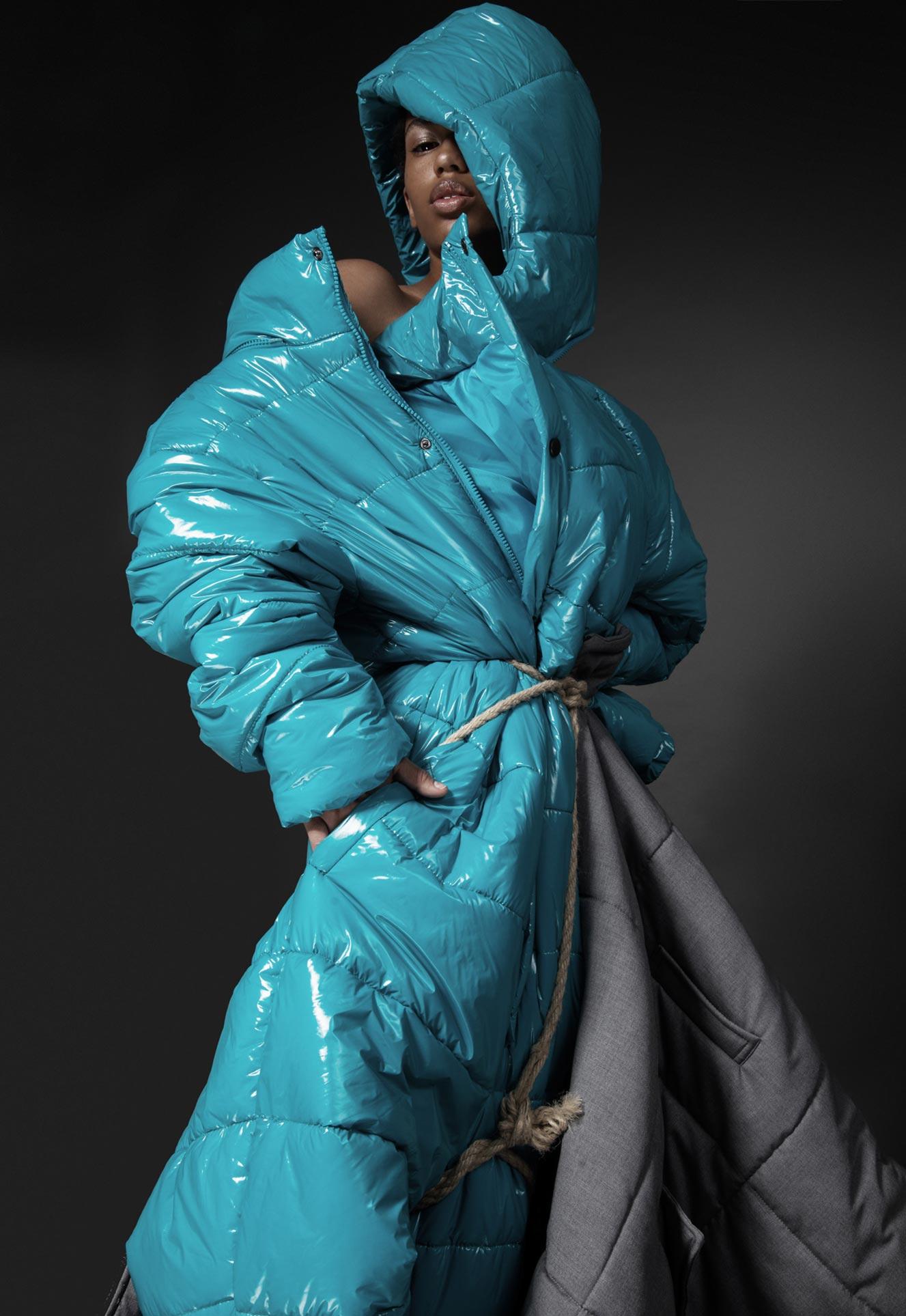 Нетрадиционный взгляд на модную одежду / фото 12