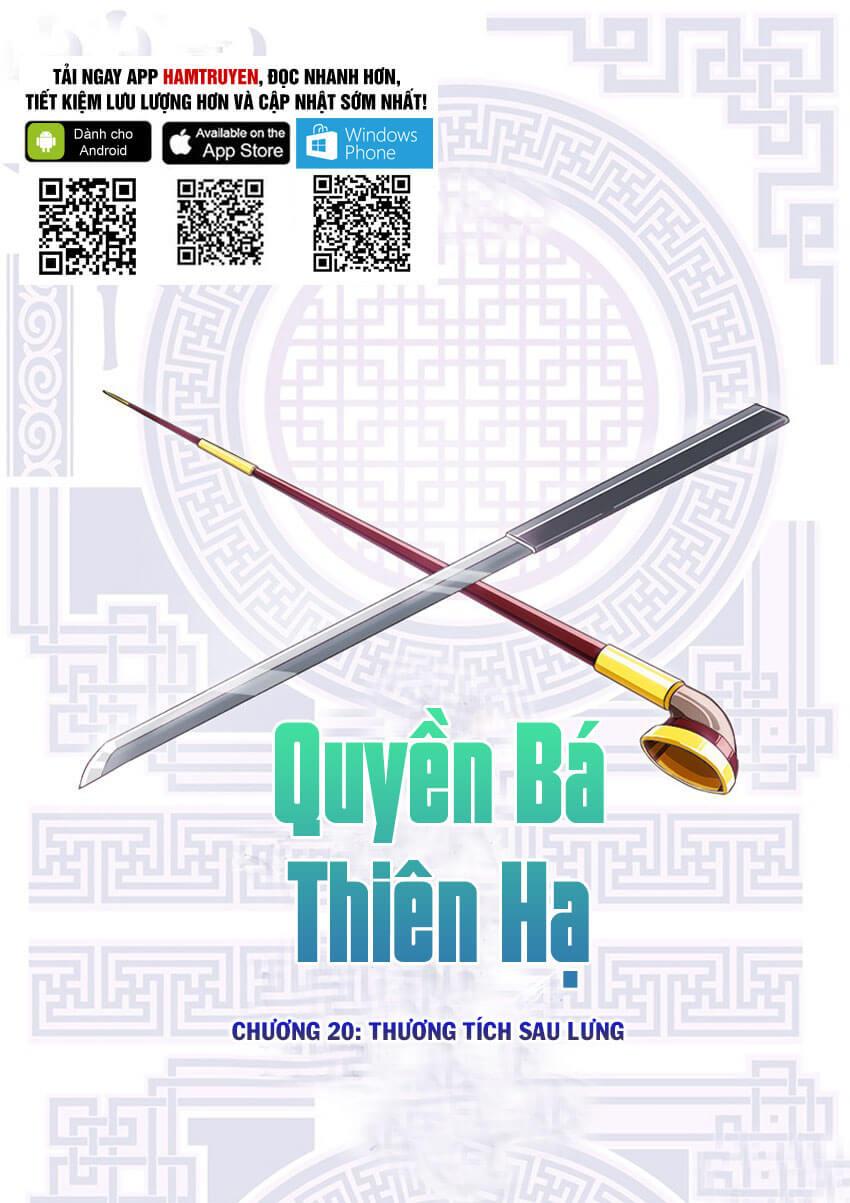 Quyền Bá Thiên Hạ Chapter 20