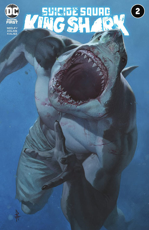 Suicide Squad - King Shark #1-4 (2021)
