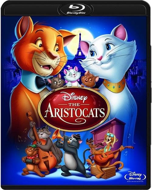 Aryskotraci / The Aristocats (1970) MULTi.720p.BluRay.x264.DTS.AC3-DENDA / DUBBING i NAPISY PL