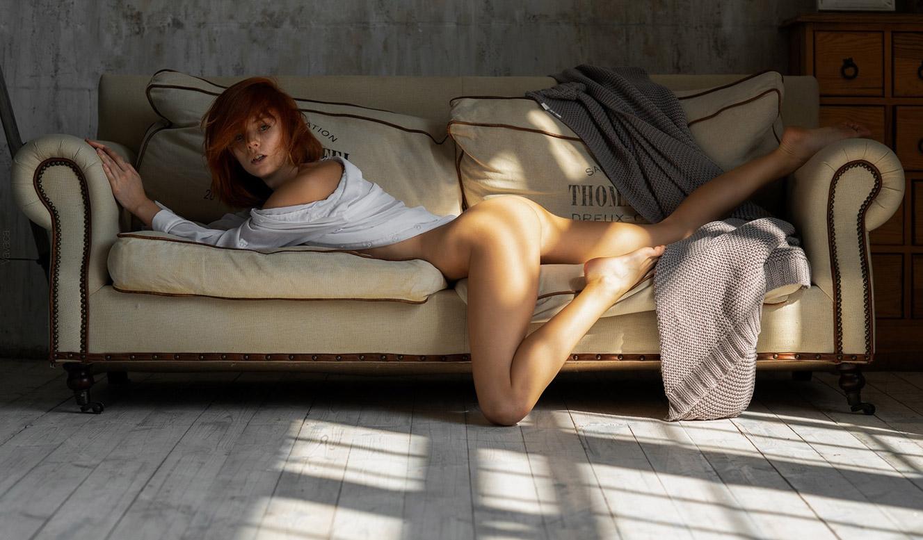 Marta Gromova nude by Vladimir Nikolaev / Thomas Eiffel