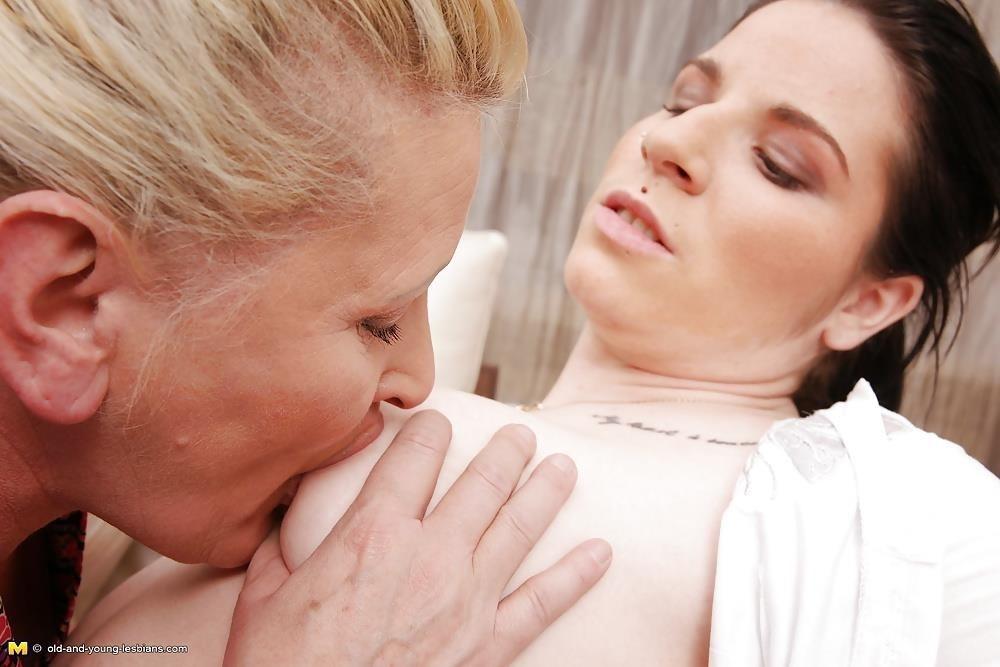 Lesbian grandma orgy-3203