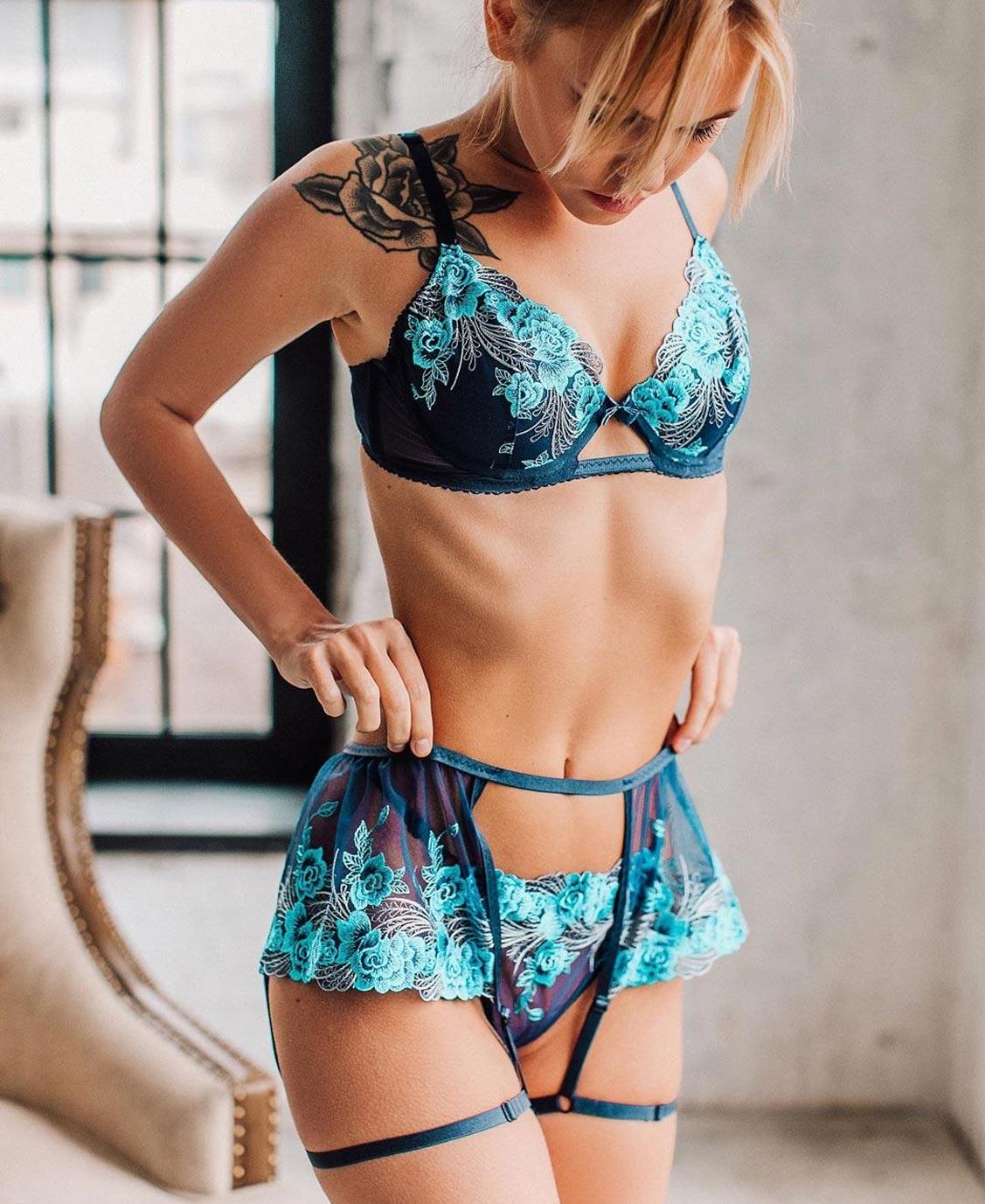 Анастасия Щеглова в нижнем белье торговой марки MissX / фото 31