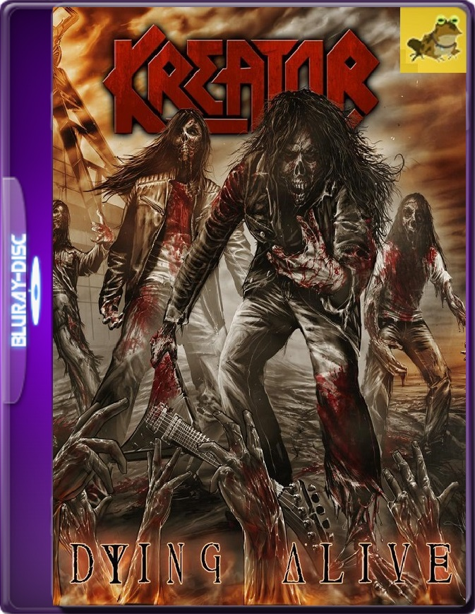 Kreator: Dying Alive (2013) Brrip 1080p (60 FPS) Inglés